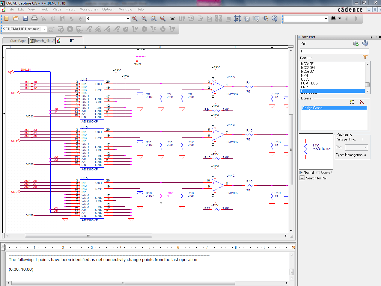 Allegro Design Entry CIS on logic synthesis, electronic design automation, digital electronics, schematic editor,