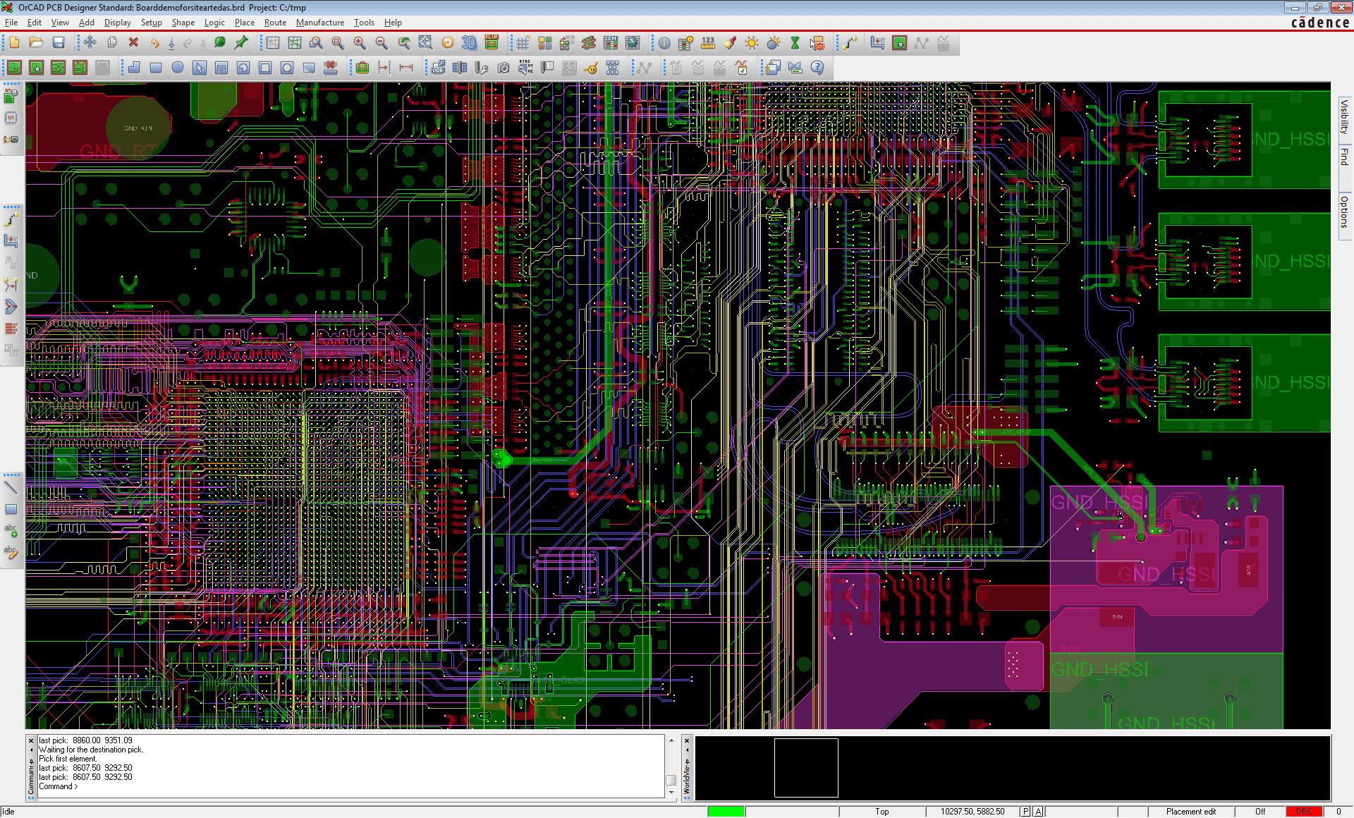 OrCAD PCB Editor