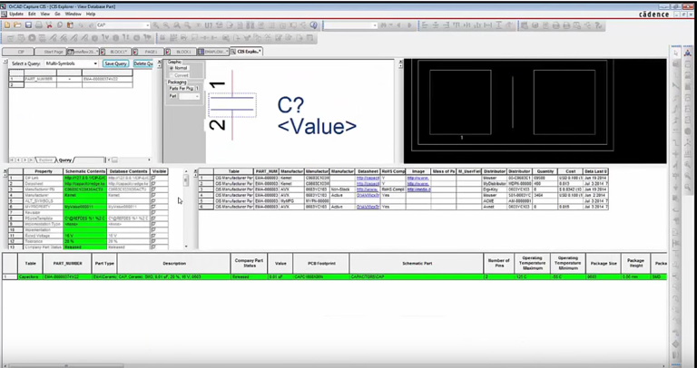 OrCAD Component Information Protal